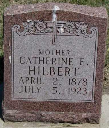 HILBERT, CATHERINE E. - Lyman County, South Dakota | CATHERINE E. HILBERT - South Dakota Gravestone Photos