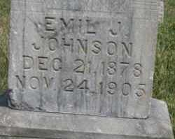 JOHNSON, EMIL J - Lyman County, South Dakota | EMIL J JOHNSON - South Dakota Gravestone Photos