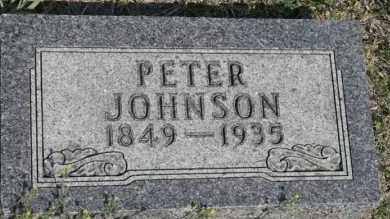 JOHNSON, PETER - Lyman County, South Dakota | PETER JOHNSON - South Dakota Gravestone Photos