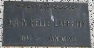 LAFFERTY, MARY BELLE - Lyman County, South Dakota   MARY BELLE LAFFERTY - South Dakota Gravestone Photos