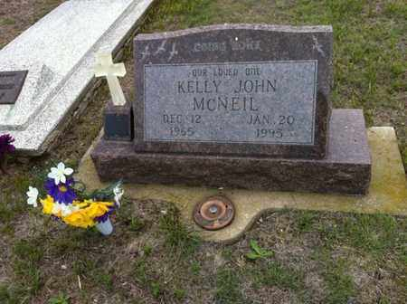 MCNEIL, KELLY JOHN - Lyman County, South Dakota | KELLY JOHN MCNEIL - South Dakota Gravestone Photos