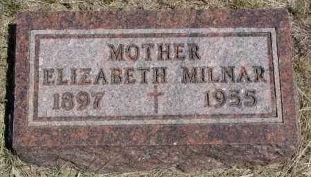 MILNAR, ELIZABETH - Lyman County, South Dakota   ELIZABETH MILNAR - South Dakota Gravestone Photos