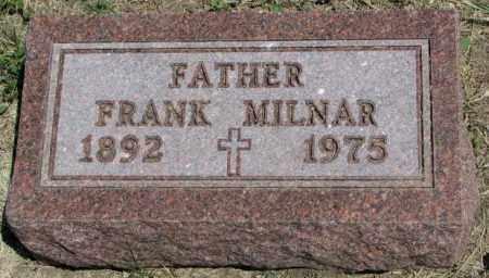 MILNAR, FRANK - Lyman County, South Dakota   FRANK MILNAR - South Dakota Gravestone Photos