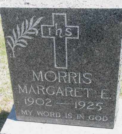 MORRIS, MARGARET E. - Lyman County, South Dakota   MARGARET E. MORRIS - South Dakota Gravestone Photos