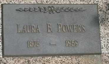 POWERS, LAURA  B - Lyman County, South Dakota | LAURA  B POWERS - South Dakota Gravestone Photos