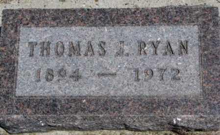 RYAN, THOMAS I. - Lyman County, South Dakota   THOMAS I. RYAN - South Dakota Gravestone Photos