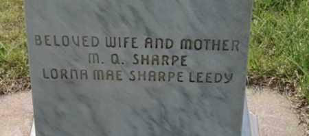 AULD SHARPE, EMILY LOUISE - Lyman County, South Dakota | EMILY LOUISE AULD SHARPE - South Dakota Gravestone Photos