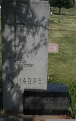 SHARPE, HAROLD M - Lyman County, South Dakota | HAROLD M SHARPE - South Dakota Gravestone Photos