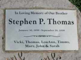THOMAS, STEPHEN PAUL - Lyman County, South Dakota | STEPHEN PAUL THOMAS - South Dakota Gravestone Photos