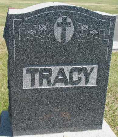 TRACY, FAMILY PLOT MARKER - Lyman County, South Dakota   FAMILY PLOT MARKER TRACY - South Dakota Gravestone Photos