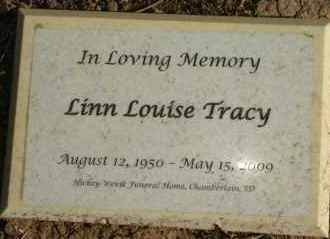 TRACY, LINN LOISE - Lyman County, South Dakota   LINN LOISE TRACY - South Dakota Gravestone Photos