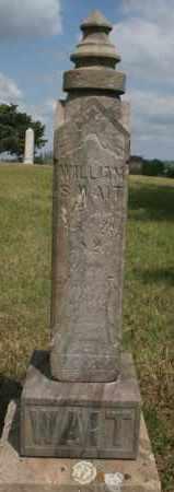 WAIT, WILLIAM S - Lyman County, South Dakota   WILLIAM S WAIT - South Dakota Gravestone Photos