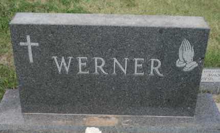 WERNER, FAMILY - Lyman County, South Dakota   FAMILY WERNER - South Dakota Gravestone Photos