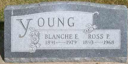 YOUNG, BLANCHE E - Lyman County, South Dakota | BLANCHE E YOUNG - South Dakota Gravestone Photos