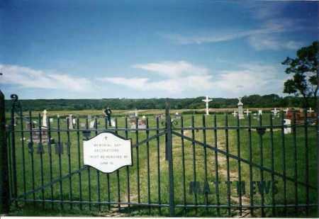 *, ST. MATTHEW'S CEMETERY - Marshall County, South Dakota | ST. MATTHEW'S CEMETERY * - South Dakota Gravestone Photos