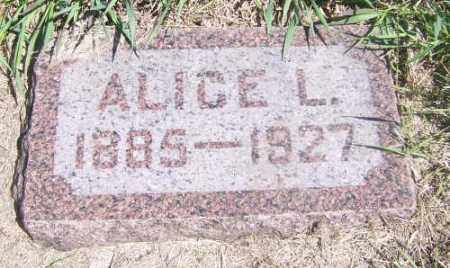LACROIX BORGEN, ALICE - Marshall County, South Dakota | ALICE LACROIX BORGEN - South Dakota Gravestone Photos
