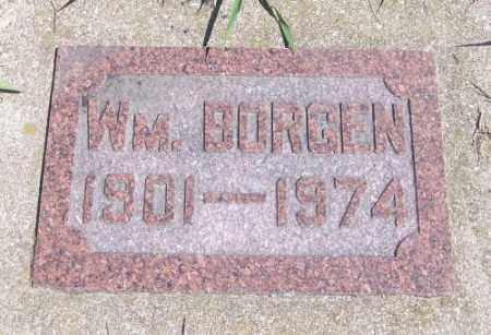 BORGEN, WILLIAM - Marshall County, South Dakota | WILLIAM BORGEN - South Dakota Gravestone Photos