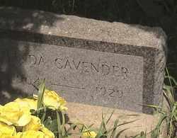 CAVENDER, LINDA - Marshall County, South Dakota | LINDA CAVENDER - South Dakota Gravestone Photos