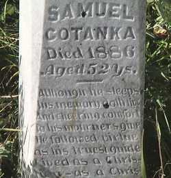 COTANKA, SAMUEL - Marshall County, South Dakota | SAMUEL COTANKA - South Dakota Gravestone Photos