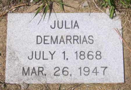 DEMARRIAS, JULIA - Marshall County, South Dakota | JULIA DEMARRIAS - South Dakota Gravestone Photos