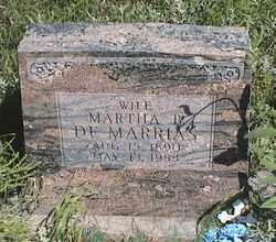DEMARRIAS, MARTHA - Marshall County, South Dakota | MARTHA DEMARRIAS - South Dakota Gravestone Photos