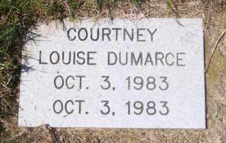 DUMARCE, COURTNEY LOUISE - Marshall County, South Dakota | COURTNEY LOUISE DUMARCE - South Dakota Gravestone Photos