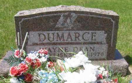 DUMARCE, WAYNE DEAN - Marshall County, South Dakota | WAYNE DEAN DUMARCE - South Dakota Gravestone Photos
