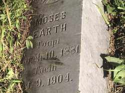 EARTH, MOSES - Marshall County, South Dakota | MOSES EARTH - South Dakota Gravestone Photos
