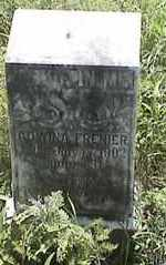FRENIER, ADWINA - Marshall County, South Dakota | ADWINA FRENIER - South Dakota Gravestone Photos