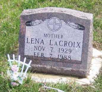 LACROIX, LENA - Marshall County, South Dakota   LENA LACROIX - South Dakota Gravestone Photos