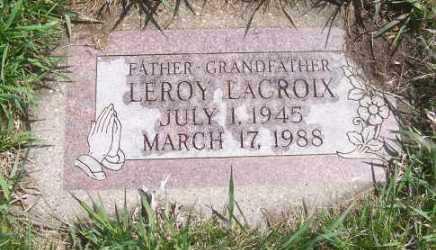 LACROIX, LEROY - Marshall County, South Dakota | LEROY LACROIX - South Dakota Gravestone Photos