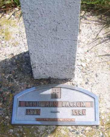 LACROIX, LYNN ANN - Marshall County, South Dakota | LYNN ANN LACROIX - South Dakota Gravestone Photos