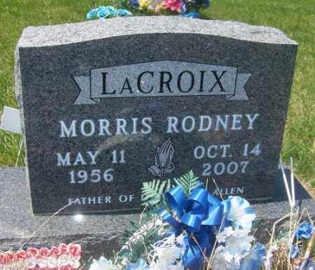 LACROIX, MORRIS RODNEY - Marshall County, South Dakota | MORRIS RODNEY LACROIX - South Dakota Gravestone Photos