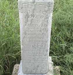 LACROIX, WALLACE - Marshall County, South Dakota | WALLACE LACROIX - South Dakota Gravestone Photos