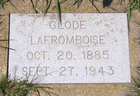 LAFROMBOISE, GLODE - Marshall County, South Dakota | GLODE LAFROMBOISE - South Dakota Gravestone Photos
