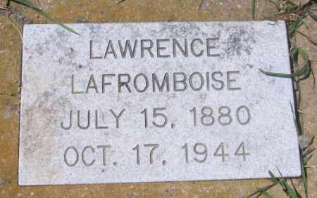 LAFROMBOISE, LAWRENCE - Marshall County, South Dakota | LAWRENCE LAFROMBOISE - South Dakota Gravestone Photos