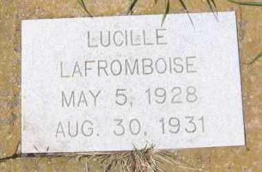 LAFROMBOISE, LUCILLE - Marshall County, South Dakota | LUCILLE LAFROMBOISE - South Dakota Gravestone Photos