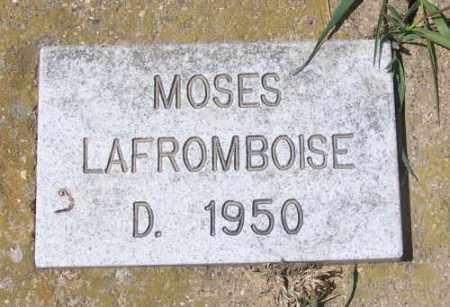 LAFROMBOISE, MOSES - Marshall County, South Dakota   MOSES LAFROMBOISE - South Dakota Gravestone Photos