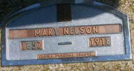NELSON, MARY - Marshall County, South Dakota   MARY NELSON - South Dakota Gravestone Photos