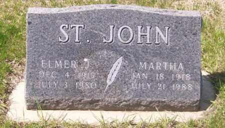 ST. JOHN, ELMER J. - Marshall County, South Dakota | ELMER J. ST. JOHN - South Dakota Gravestone Photos