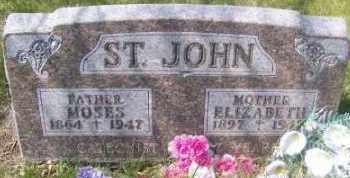 ST. JOHN, ELIZABETH - Marshall County, South Dakota | ELIZABETH ST. JOHN - South Dakota Gravestone Photos