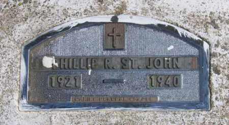 ST. JOHN, PHILLIP R. - Marshall County, South Dakota | PHILLIP R. ST. JOHN - South Dakota Gravestone Photos