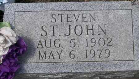 ST. JOHN, STEVEN - Marshall County, South Dakota | STEVEN ST. JOHN - South Dakota Gravestone Photos