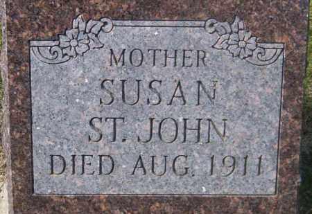 ST. JOHN, SUSAN - Marshall County, South Dakota   SUSAN ST. JOHN - South Dakota Gravestone Photos