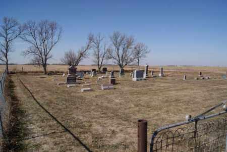 * UNITYVILLE, CEMETERY WIDE VIEW - McCook County, South Dakota   CEMETERY WIDE VIEW * UNITYVILLE - South Dakota Gravestone Photos