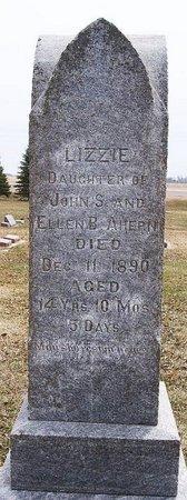 AHERN, LIZZIE - McCook County, South Dakota   LIZZIE AHERN - South Dakota Gravestone Photos