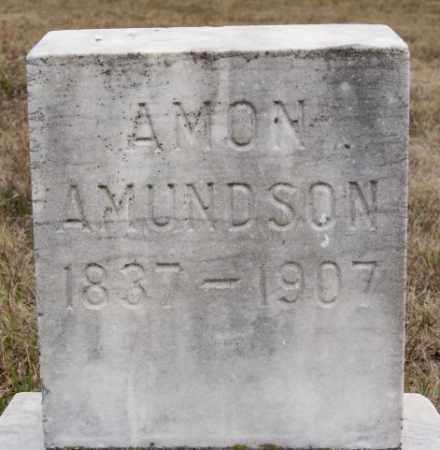 AMUNDSON, AMON - McCook County, South Dakota | AMON AMUNDSON - South Dakota Gravestone Photos