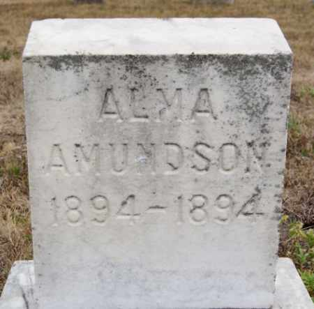 AMUNDSON, ALMA - McCook County, South Dakota | ALMA AMUNDSON - South Dakota Gravestone Photos