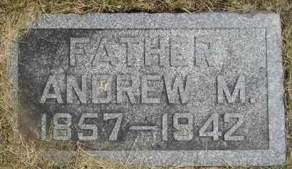 ANDERSON, ANDREW M. - McCook County, South Dakota   ANDREW M. ANDERSON - South Dakota Gravestone Photos