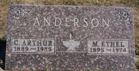 ANDERSON, M ETHEL - McCook County, South Dakota | M ETHEL ANDERSON - South Dakota Gravestone Photos